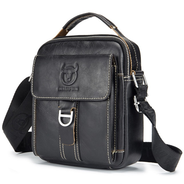 079ea47bab Pánská kožená taška HandyOne od Bullcaptain