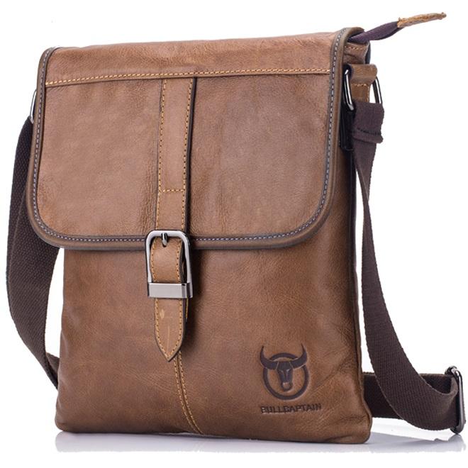 0ec57775f4d0c Pánská kožená taška Clip od Bullcaptain empty