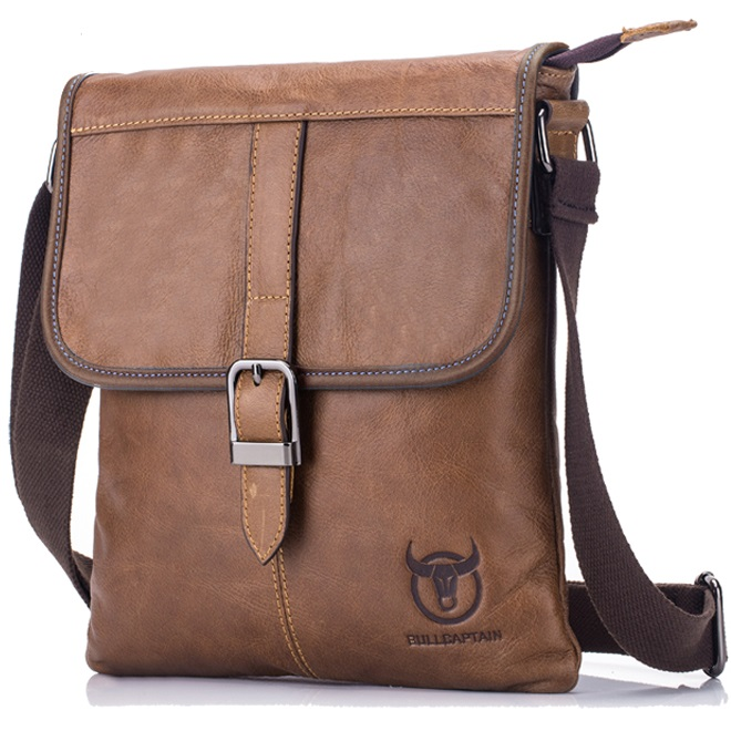 e872e8be35 Pánská kožená taška Clip od Bullcaptain